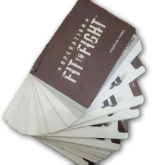 Fit to Fight Exercise Cards - Toy Chest Pakistan