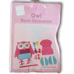 Owl Room Decoration - Toy Chest Pakistan