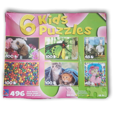 6 kidz puzzle - Toy Chest Pakistan