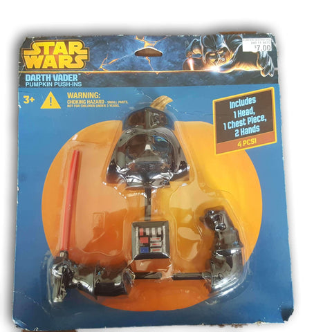 Star Wars Darth Vader Pumpkin Push Ins - Toy Chest Pakistan