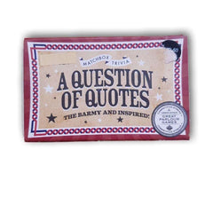 A question of quotes - Toy Chest Pakistan