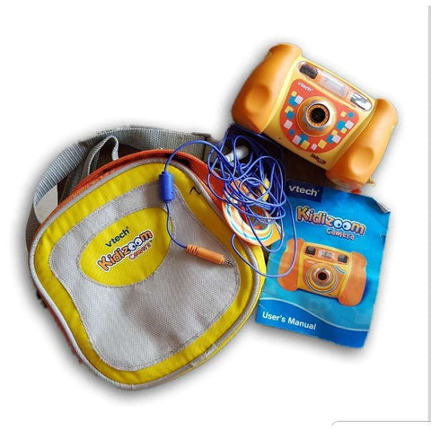 Vtech Kidizoom Camera (With Cover And Wires)