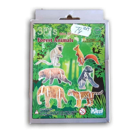 3D Forest Animals - Toy Chest Pakistan