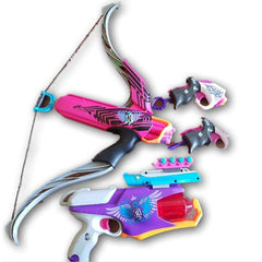 NERF Crossbow and guns, 10 bullets included - Toy Chest Pakistan