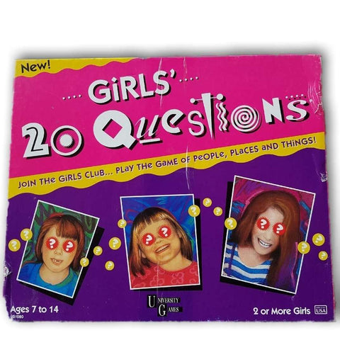 20 Questions (Girls) - Toy Chest Pakistan