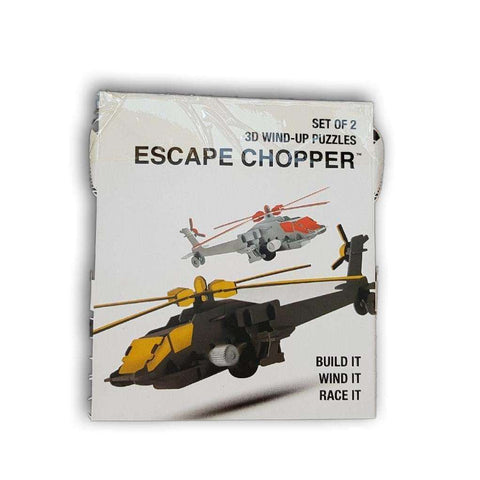 3D Windup Puzzles,Escape CChopper - Toy Chest Pakistan