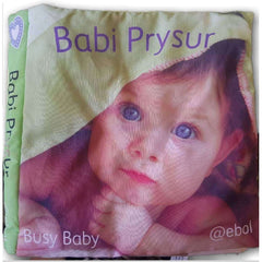 Cloth Book: busy Baby - Toy Chest Pakistan