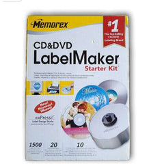 Cd & DVD Label Maker Starter Kit - Toy Chest Pakistan