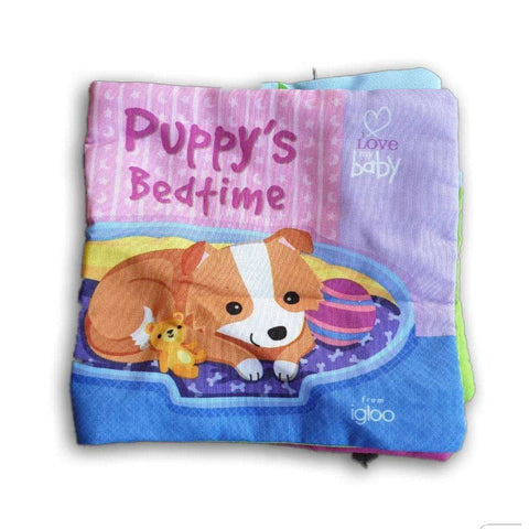 Cloth Book: Puppy'S Bedtime
