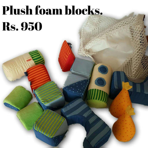 Plush Foam Blocks