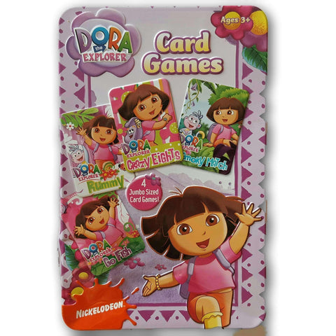 Dora Card Games (3 Games Out Of 4)