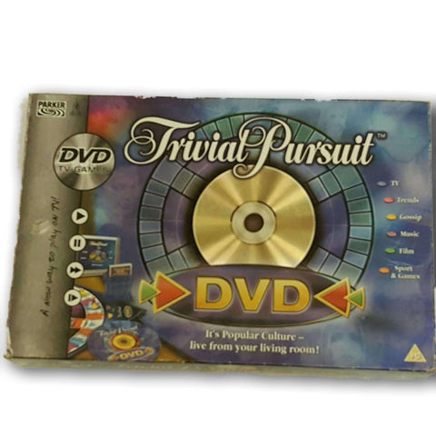 Trivial Pursuit Dvd Game