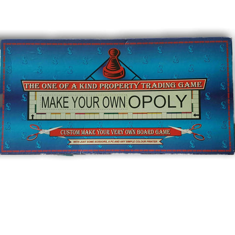 Make-Your-Own-Opoly