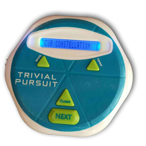 Trivial Pursuit Electronic Handheld Game
