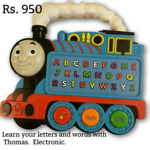 Thomas Letters And Words