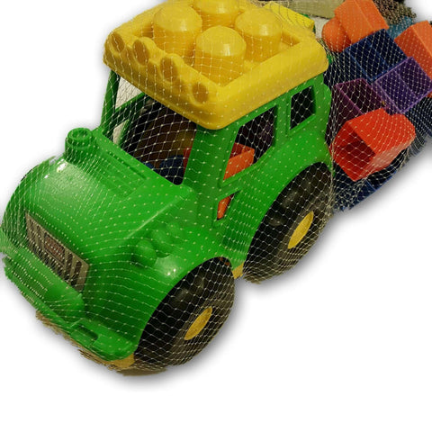 Mega Bloks Truck with 20 blocks