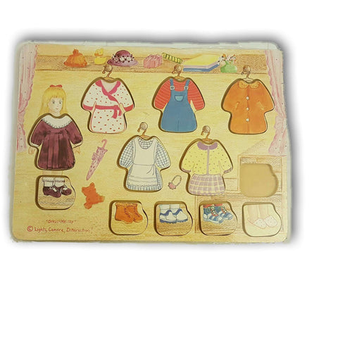 Melissa And Doug Dress Up (One Piece Less)