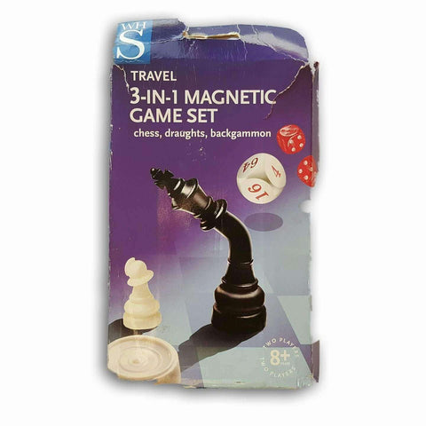 3 In 1 Travel Magnetic Set