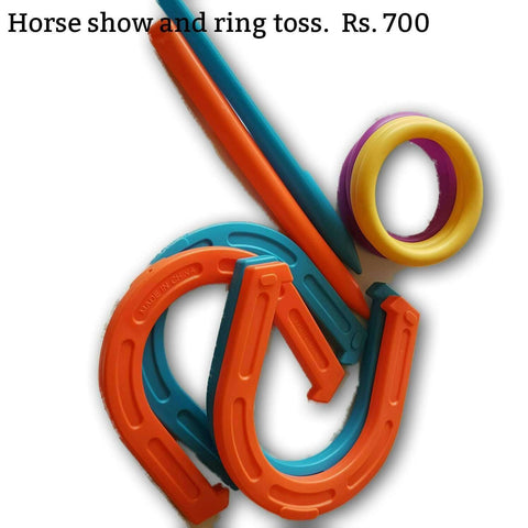 Horse Shoe And Ring Toss