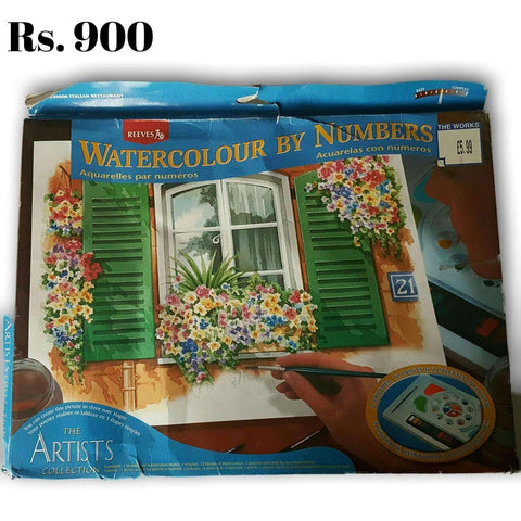 Water Colour By Number NEW