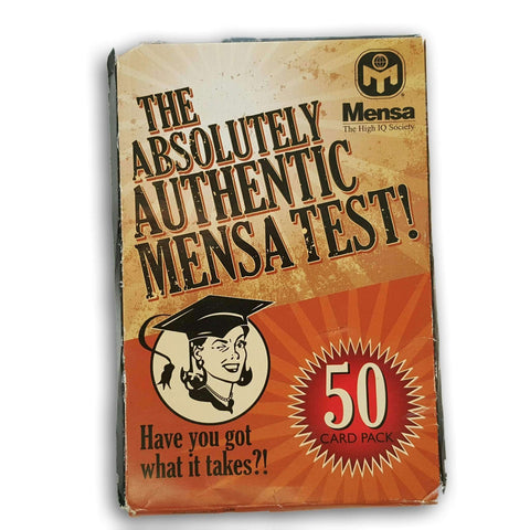 The Absolutely Authentic Mensa Test