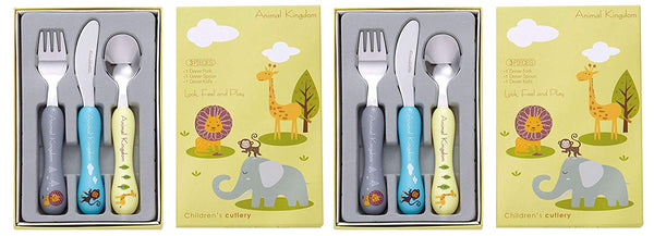 Bon Animal Kingdom 6-Piece Children's Cutlery Set