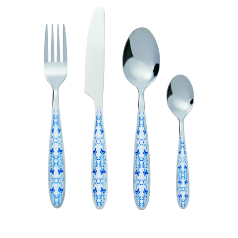 Bon Butterfly 24-Piece Stainless Steel Cutlery Set