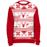 CHRISTMAS SWEATSHIRT RED - Z16 Apparel