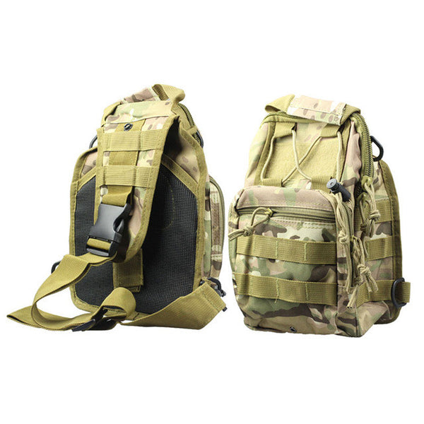 Molle Sling Chest Bag Assault Pack Messenger school backpacks - Z16 Apparel