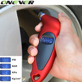 LCD Digital Tire pressure gauge - Z16 Apparel