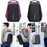 Anti-theft Backpack With USB Charge Port Concealed Zippers And Larger Volume Capacity Lightweight Waterproof for School Travel - Z16 Apparel