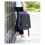 Men's Waterproof Charging Backpack Business Satchel Large Capacity Laptop Backpack with USB Charging Port - Z16 Apparel