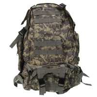 Practical Large Capacity Cloth Double Shoulder Tactics Military Fans Backpack 55L - Z16 Apparel