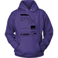 DODGE STEALTH RT/TT HOODIE - Z16 Apparel