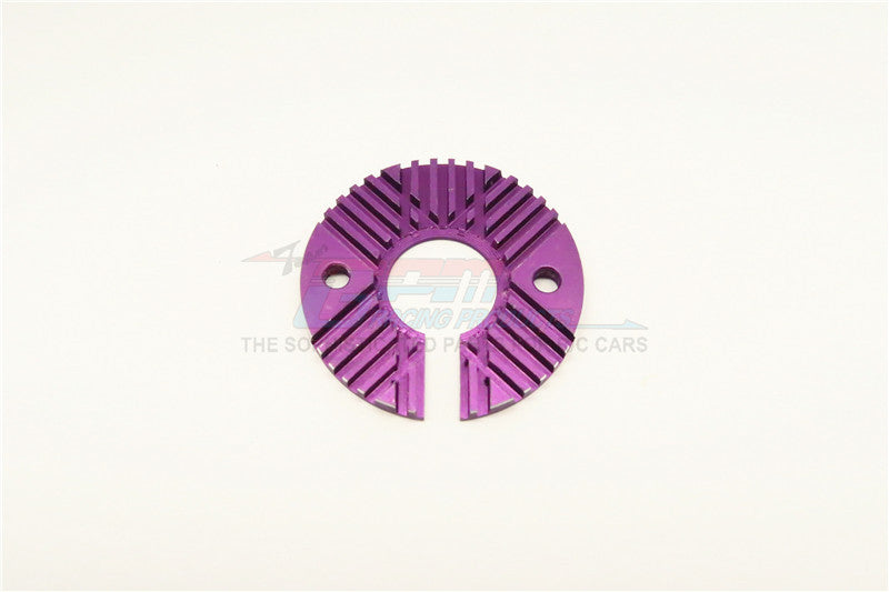 1/12 Scale Motor Cooling Plate - 1Pc Purple - JTeamhobbies