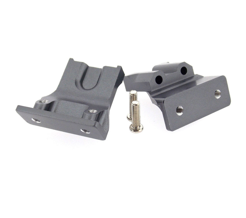 Tamiya Ford F350 High-Lift Aluminum Rear Body Stay - 2Pcs Set Gray Silver