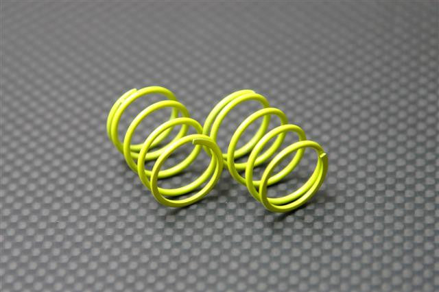 1.3mm (Length 23mm) Coil Spring - 1Pr Yellow - JTeamhobbies