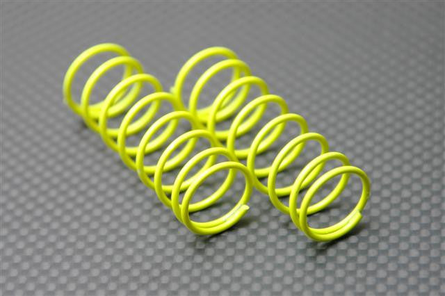 1.2mm (Length 49mm) Coil Spring - 1Pr Yellow - JTeamhobbies