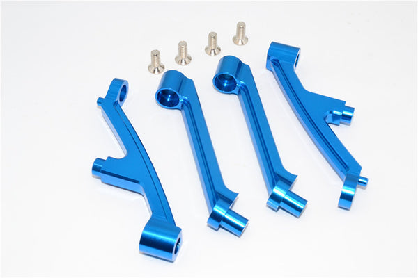 HPI Baja 5B RTR, 5B SS, 5T Aluminum Front Shock Tower Support - 1Set Blue