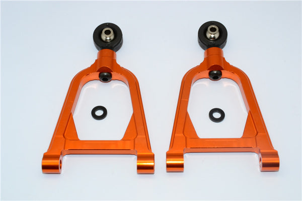 HPI Baja 5B RTR, 5B SS, 5T Aluminum Front Upper Arm - 1Pr Orange