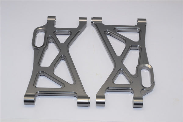 HPI Baja 5B RTR, 5B SS, 5T Aluminum Rear Lower Arm - 1Pr Gray Silver