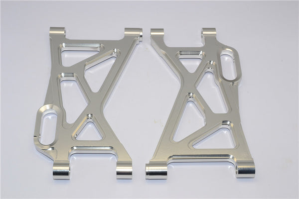 HPI Baja 5B RTR, 5B SS, 5T Aluminum Rear Lower Arm - 1Pr Silver