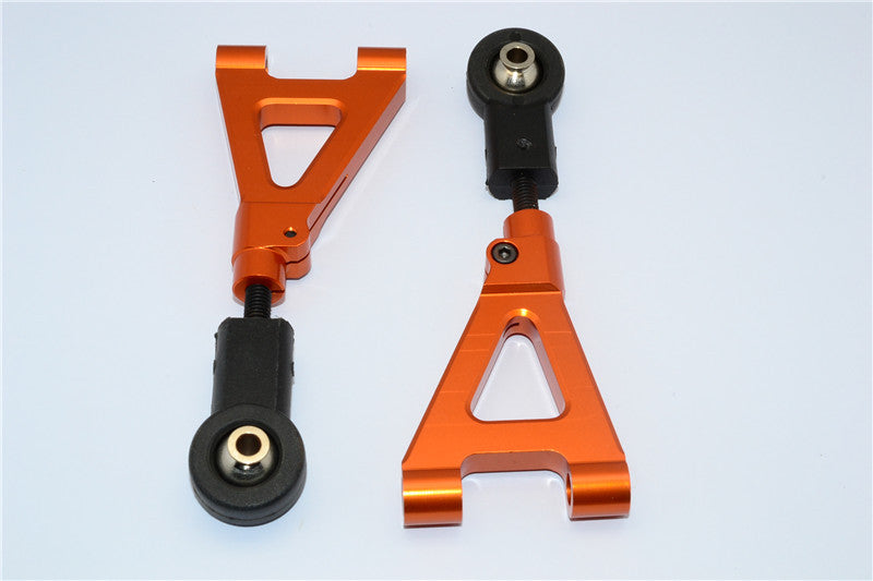 HPI Baja 5B RTR, 5B SS, 5T Aluminum Rear Upper Arm - 1Pr Orange