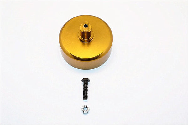 HPI Baja 5B RTR, 5B SS, 5T Aluminum Clutch Bell Of 5mm Bore With Screw & Lock Nut For Use With GPM Pinions# SBJ01618TO - 1Pc Set Gold