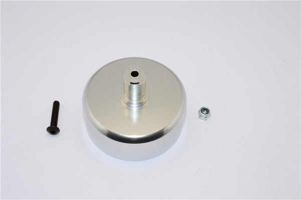 HPI Baja 5B RTR, 5B SS, 5T Aluminum Clutch Bell Of 5Mm Bore With Screw & Lock Nut For Use With Pinions Sbj01618To - 1Pc Set Silver