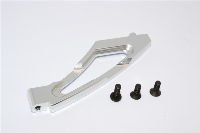 HPI Bullet 3.0 Nitro Aluminum Front Chassis Brace - 1Pc Silver