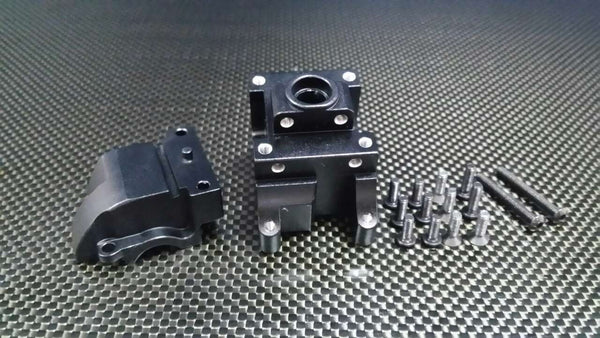 HPI Bullet Nitro 3.0 Aluminum Front/Rear Gear Box - 1 Set Black