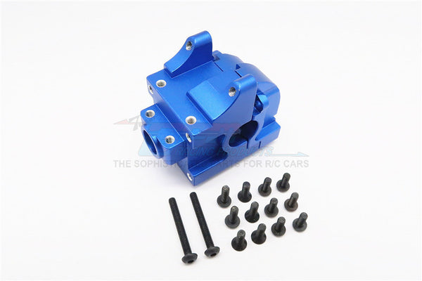 HPI Bullet Nitro 3.0 Aluminum Front/Rear Gear Box - 1 Set Blue