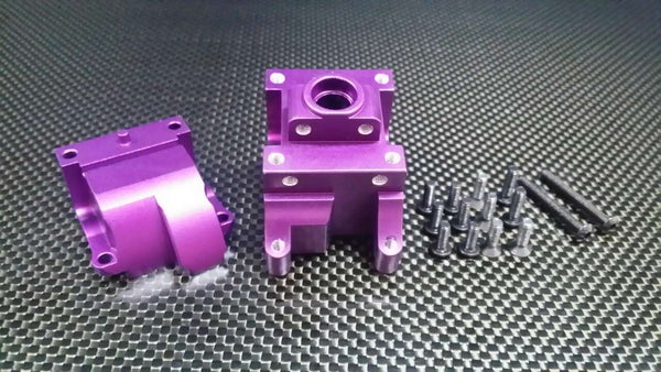 HPI Bullet Nitro 3.0 Aluminum Front/Rear Gear Box - 1 Set Purple