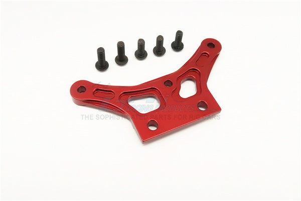 HPI Bullet Nitro 3.0 Aluminum Front Gear Box Plate - 1Pc Red